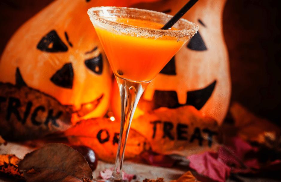 Halloween cocktail.