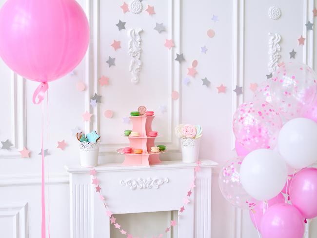 birthday party decor.